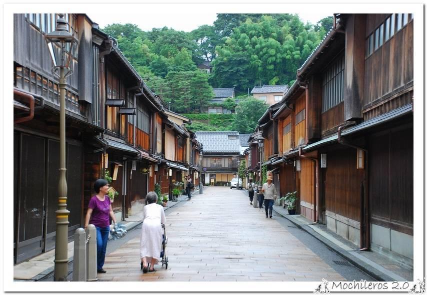Visita a los distritos de las Geishas y los Samurais