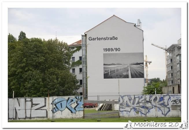 Muro de Berlin en Nordbanhof y la East Side Gallery