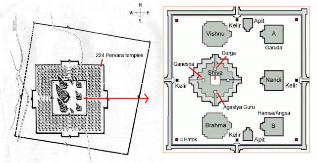 mapa prambanan
