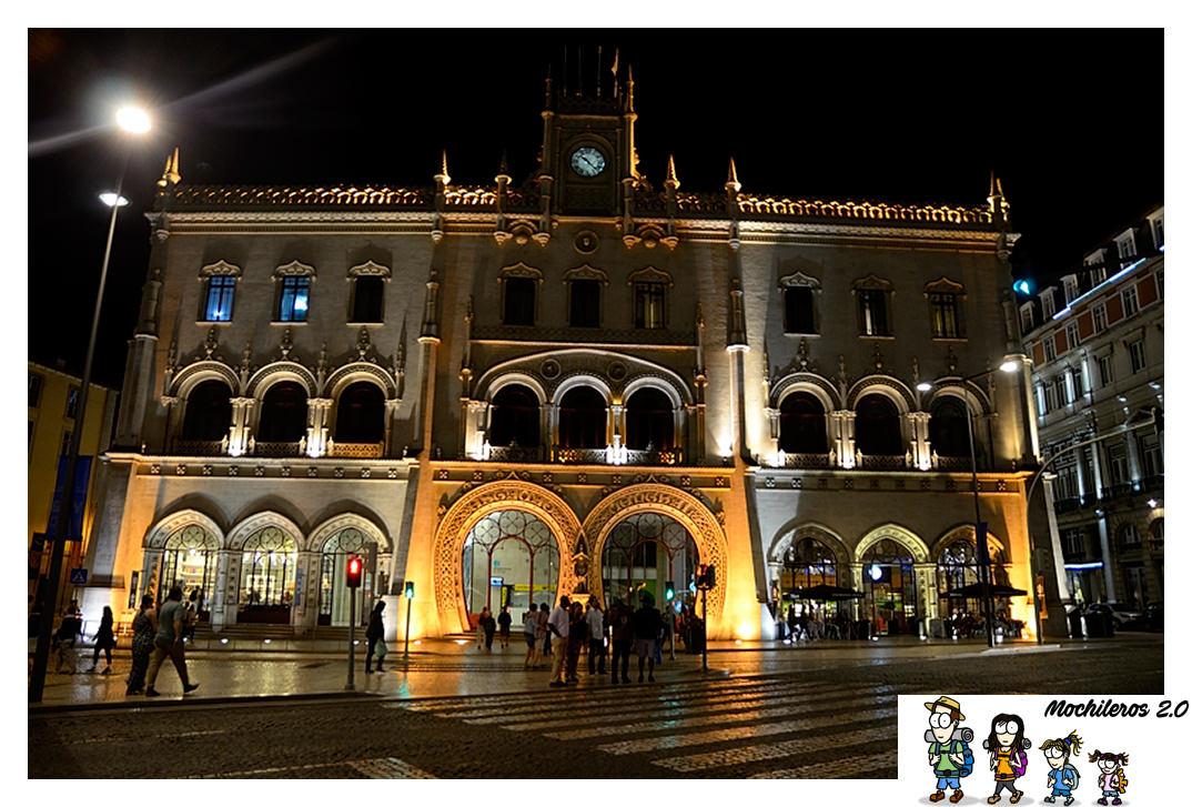 estacion ferroviaria de Rossio Lisboa