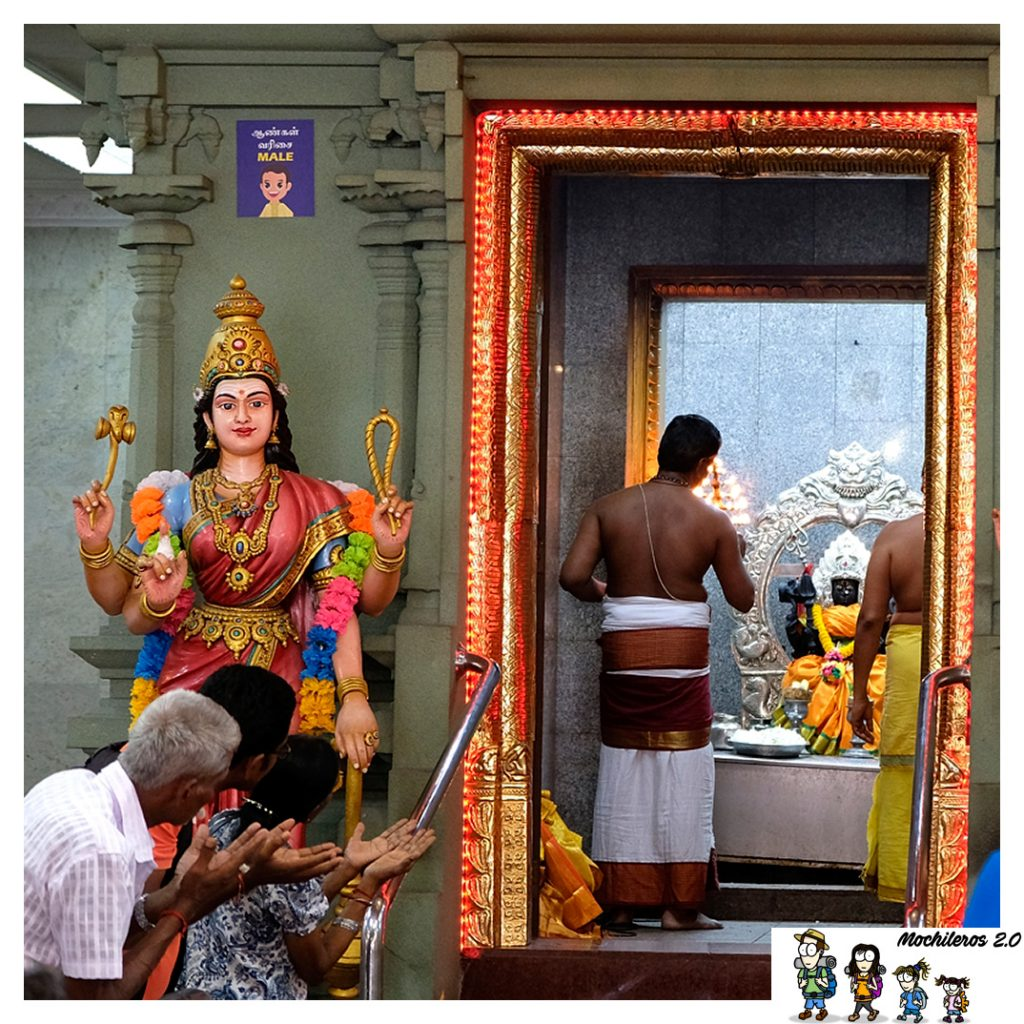Ofrenda Sri Mahamariaman
