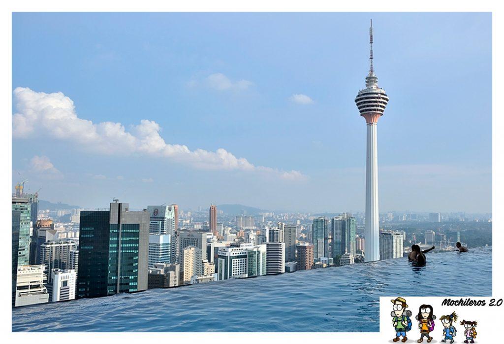 Torre Menara desde el Face Suites