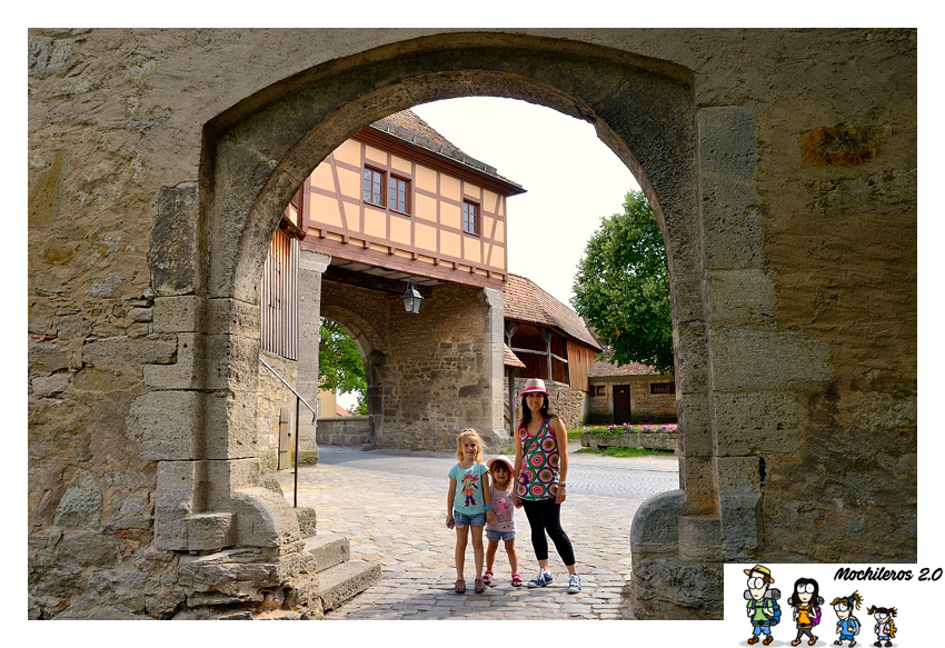 Arco muralla Rothenburg