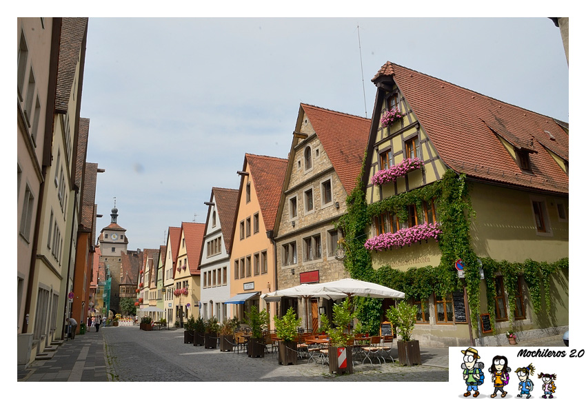 Casas antiguas Rothenburg