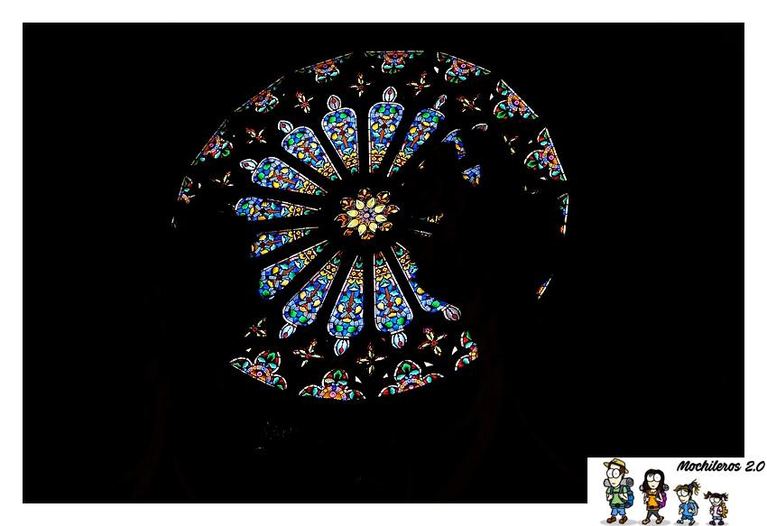 vidrieras basilica morella