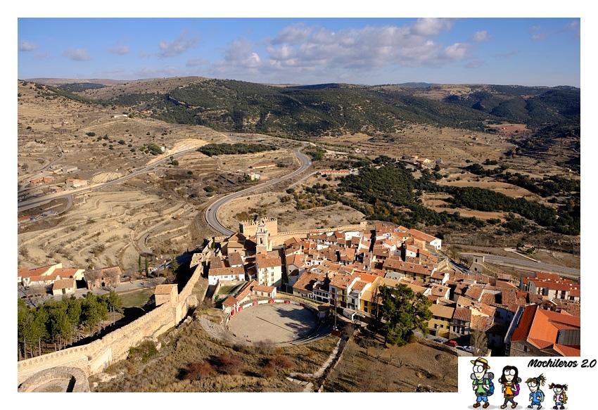 vistas desde castillo Morella