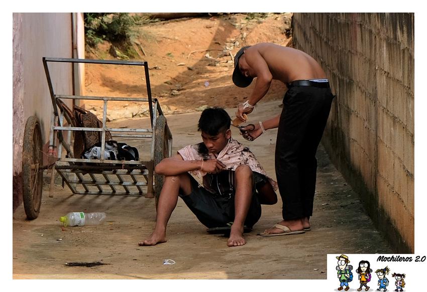 vida calle nong khiaw