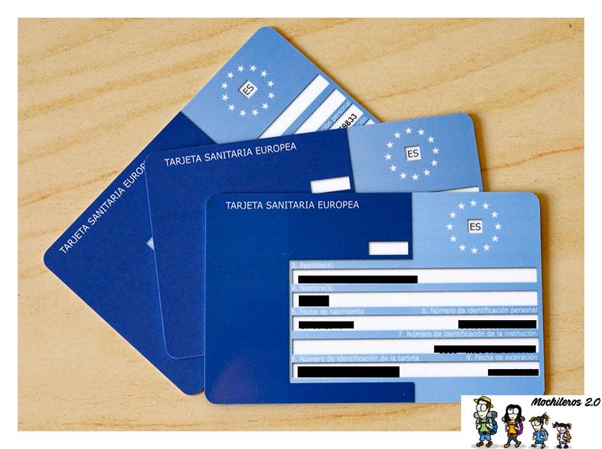 Guía de la Tarjeta Sanitaria Europea - Mochileros 2.0