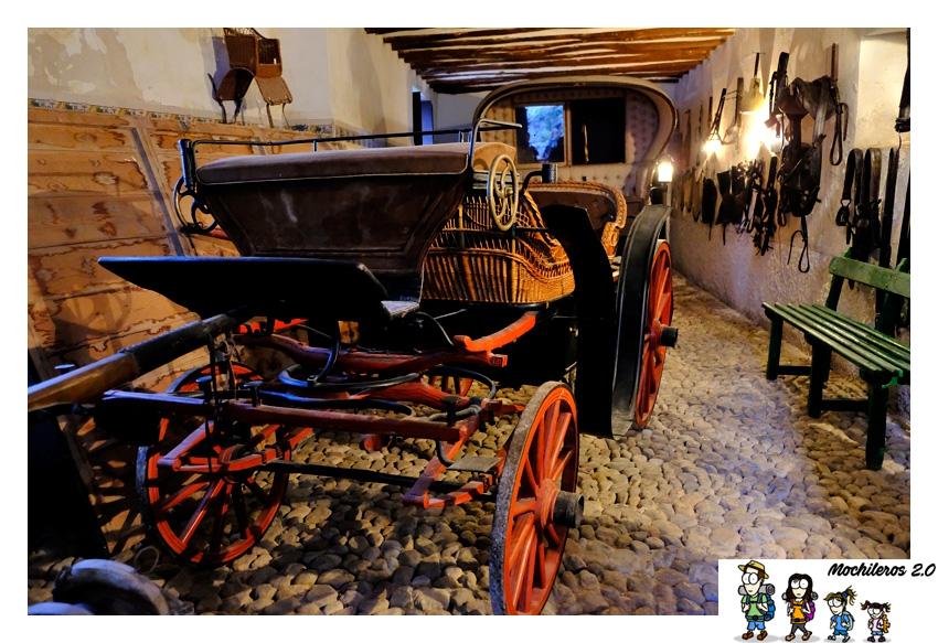carruajes palacio duques ahumada
