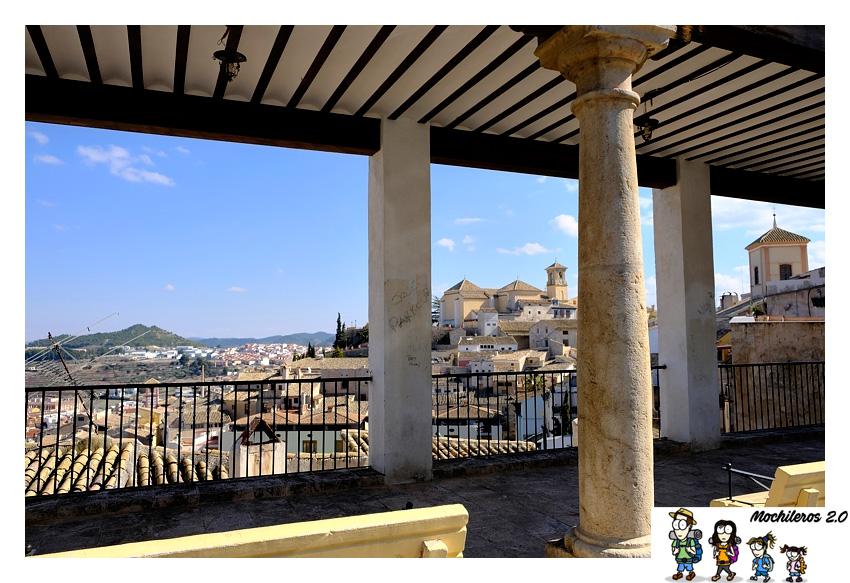 soportales plaza castillo cehegín