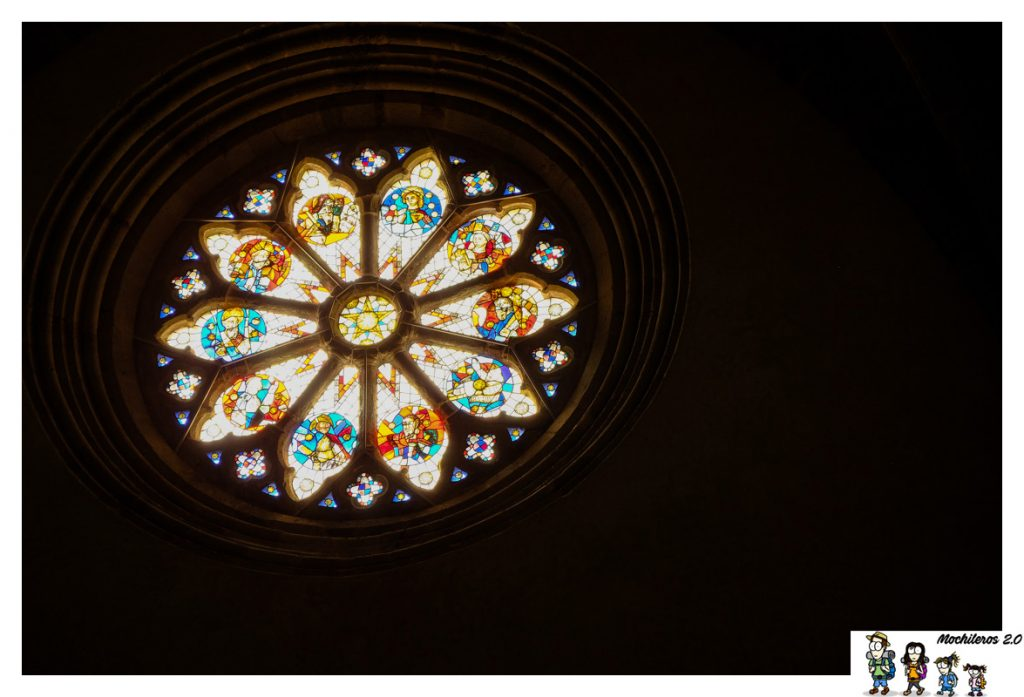rosetón iglesia najac