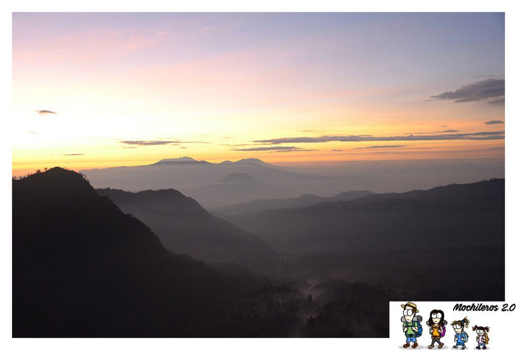 amanecer volcan bromo