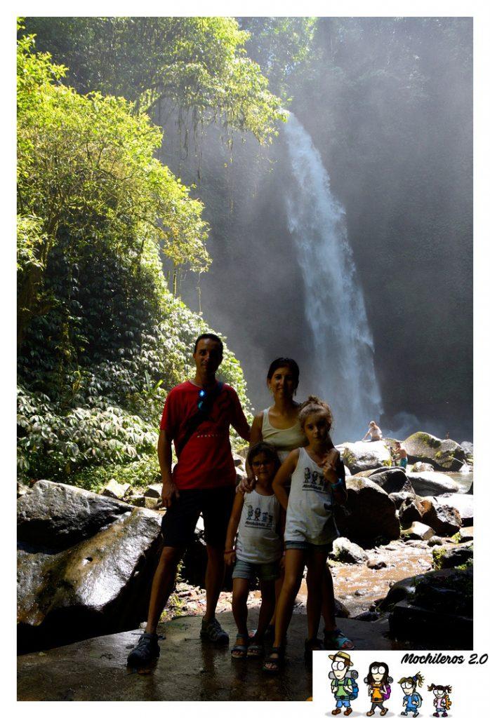 bali cascadas