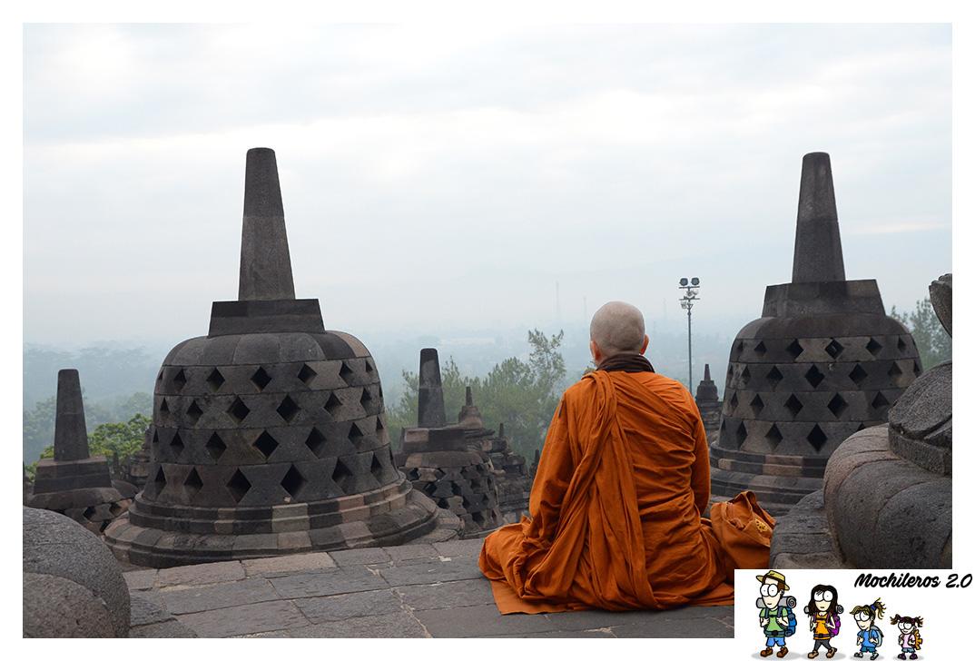 Borobudur, el Templo Budista más grande del mundo