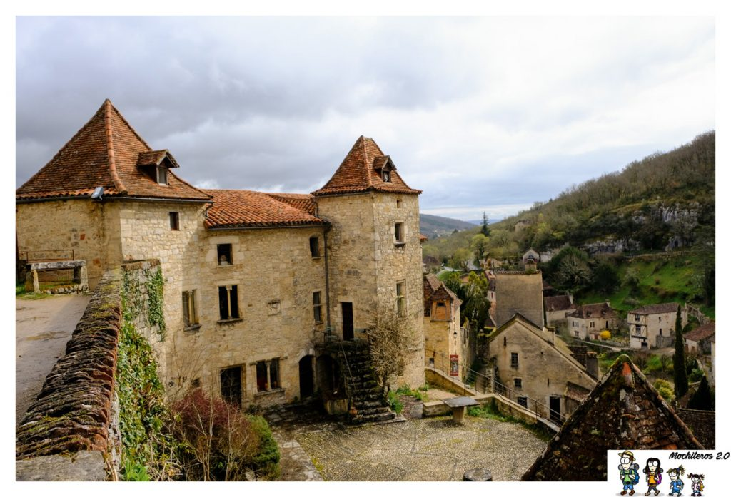 castillo saint cirq lapopie
