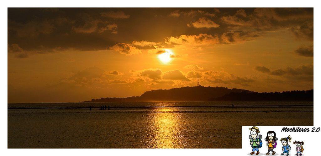 puesta sol islas gili