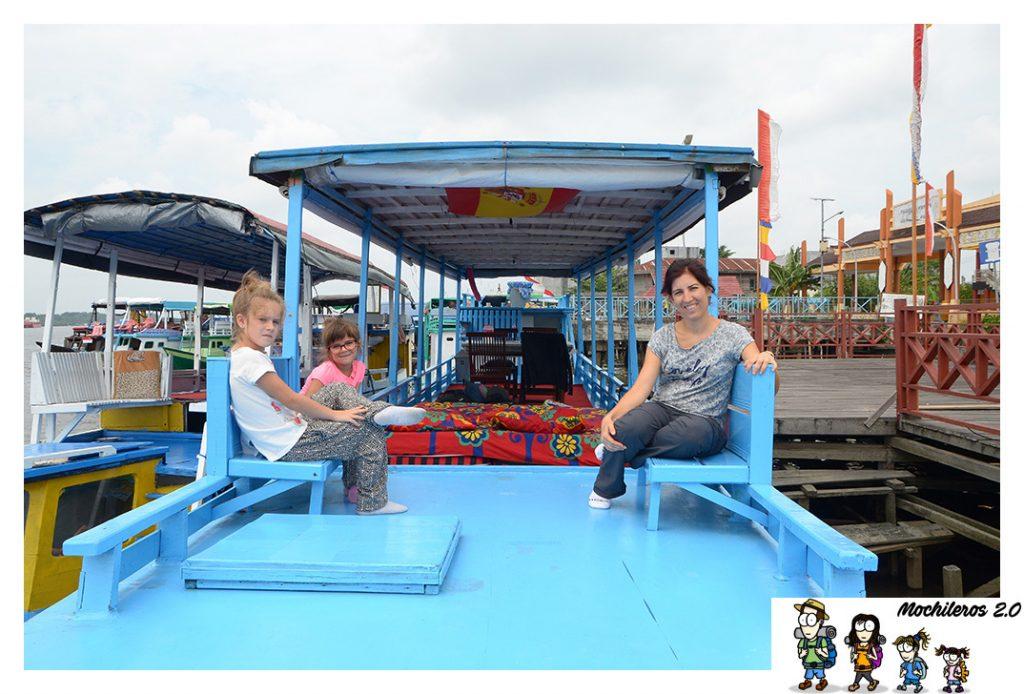 ruta klotoc borneo indonesia
