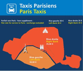 taxi orly paris