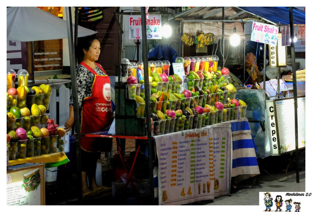 luangprabang frutas mercado