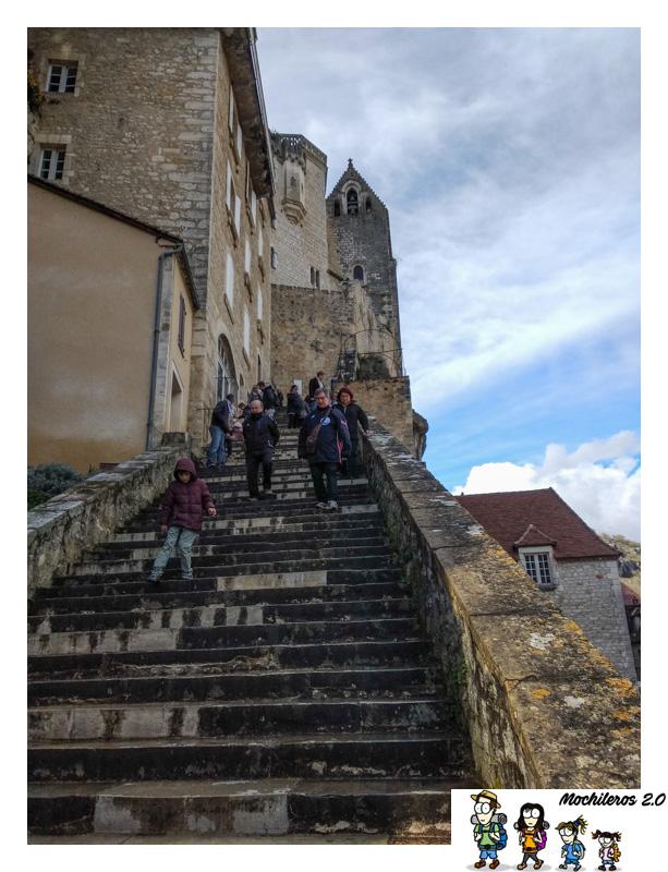 rocamadour gran escalera