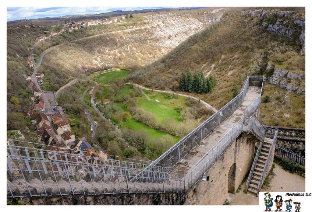 rocamadour mirador castillo