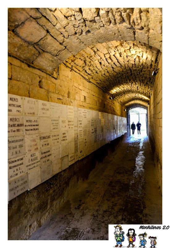 rocamadour tunel