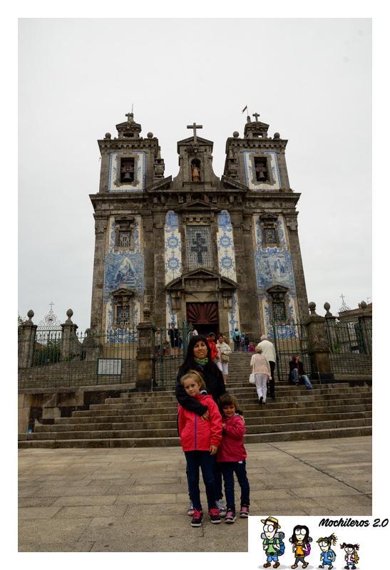 oporto iglesia san ildefonso