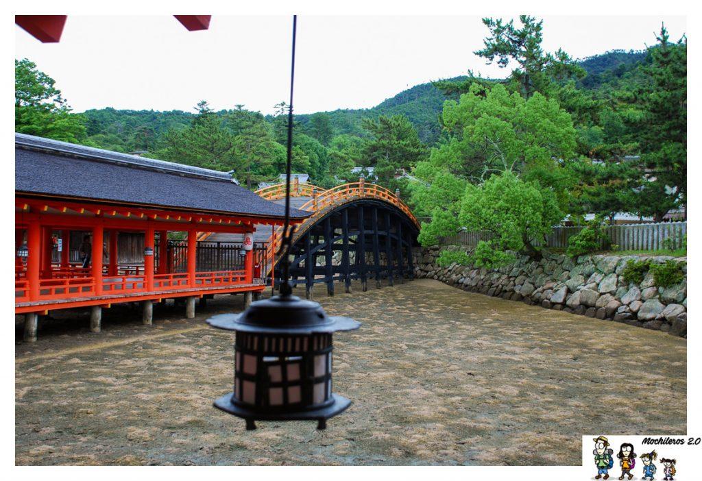 miyajima santuario puente