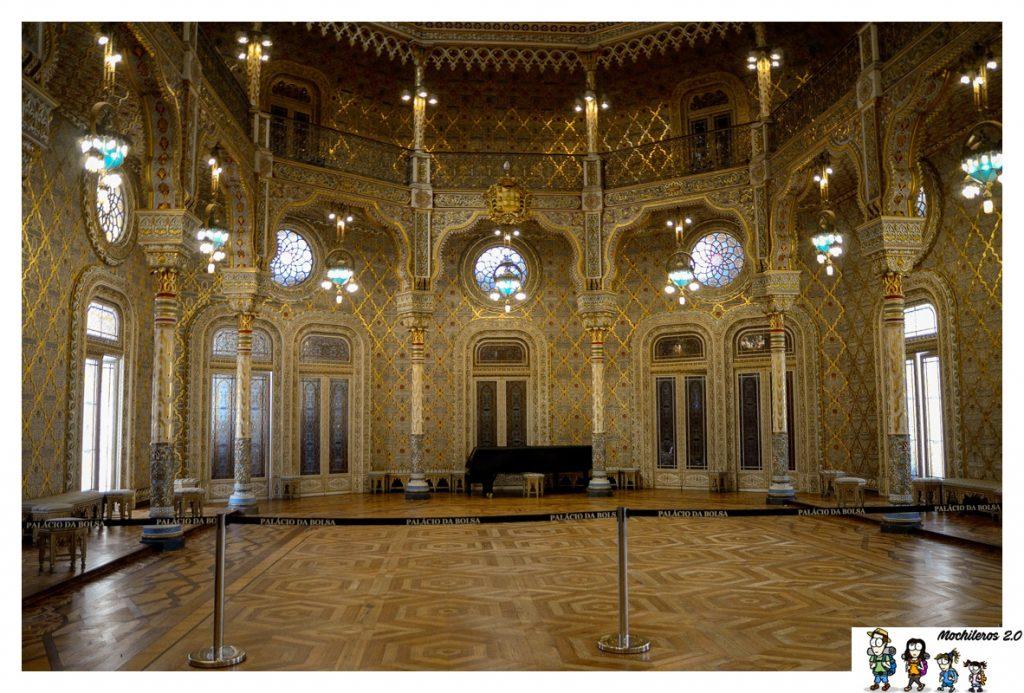 sala arabe palacio bolsa