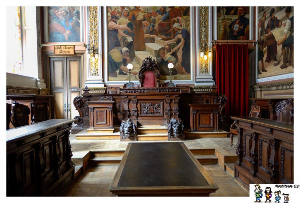 sala palacio bolsa oporto