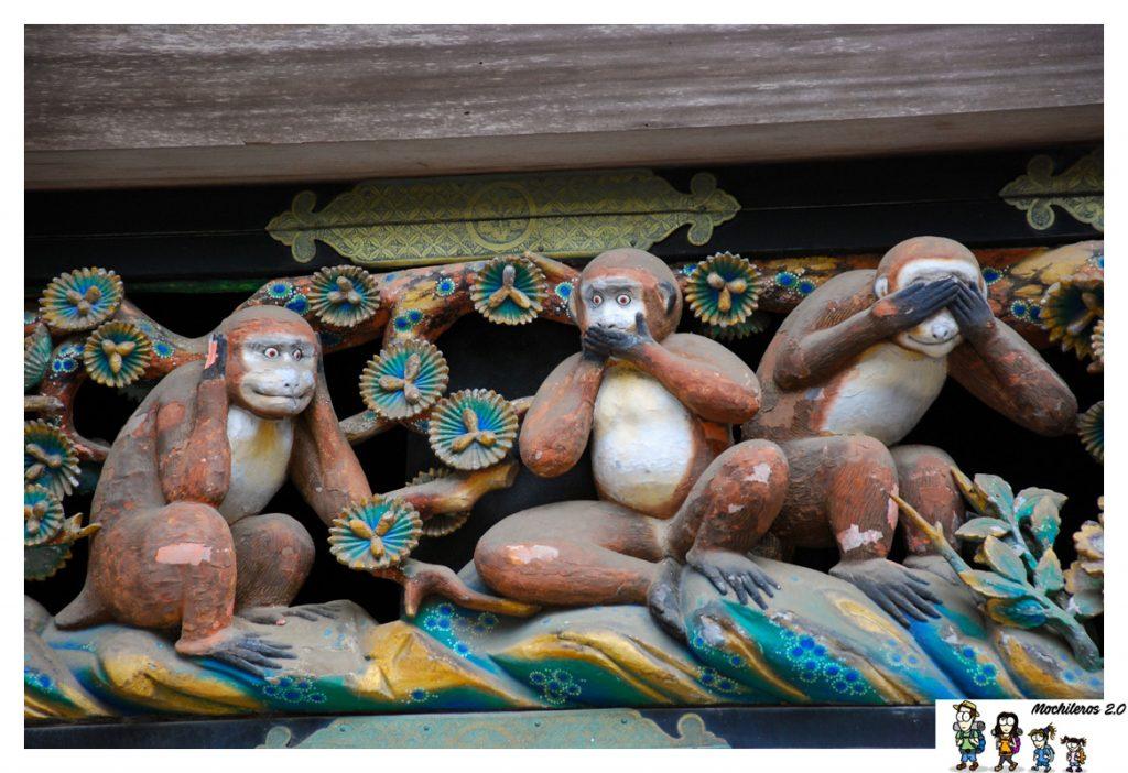 tres monos sabios nikko