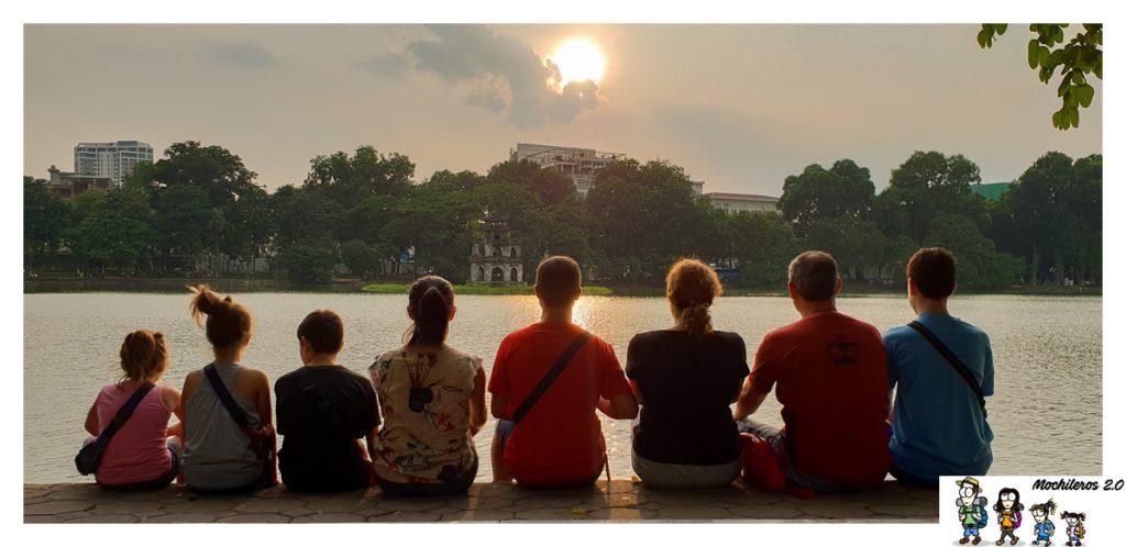 vietnam por libre con amigos
