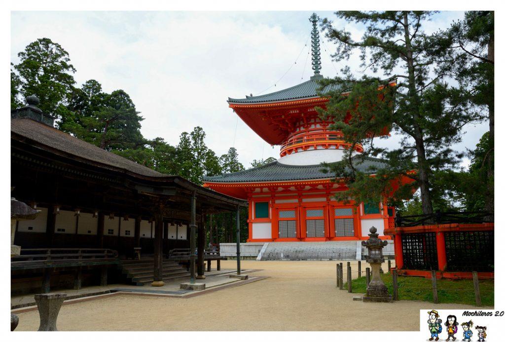 koyasan pagoda