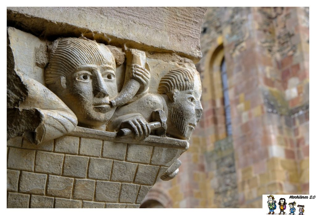 capitel claustro conques