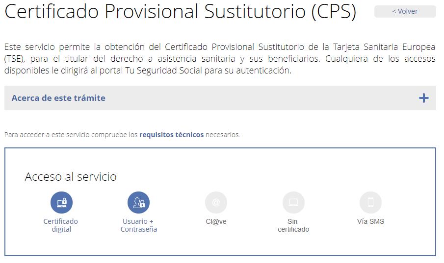 certificado provisional sustitorio tse