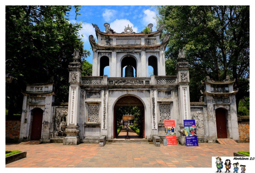 hanoi templo literatura