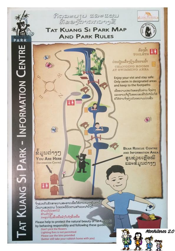 mapa kuang si
