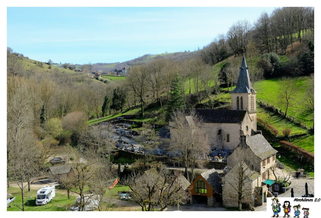 iglesia santa magdalena belcastel