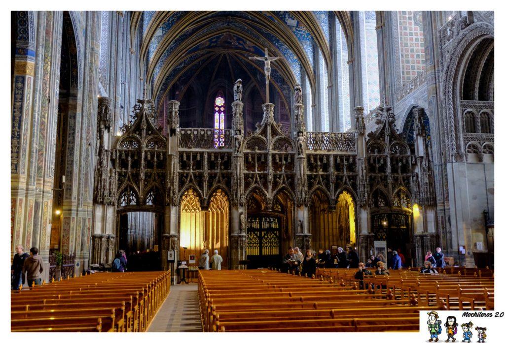 albi catedral coro