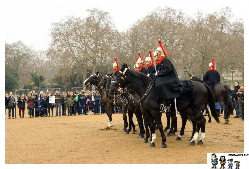 cambio guardia caballo londres