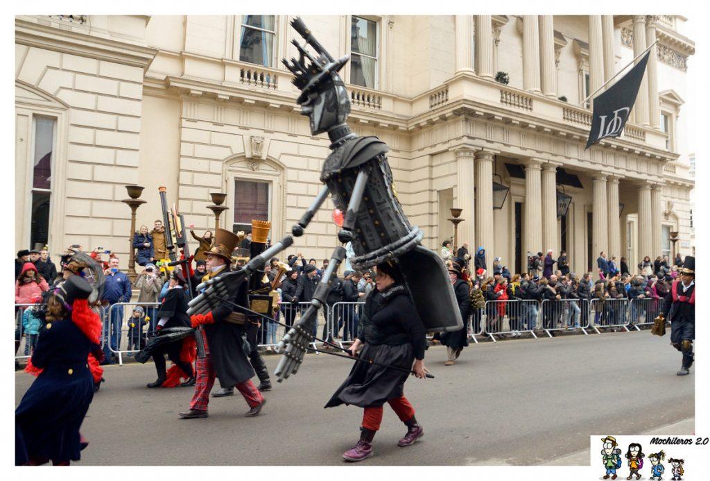 desfile ano nuevo londres