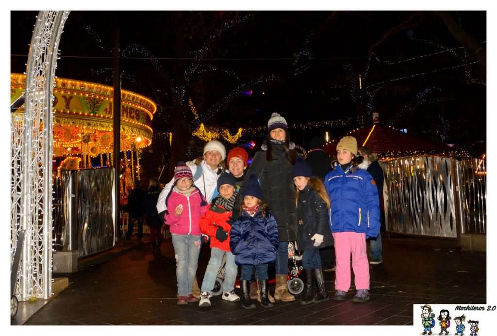 leicester square londres navidad