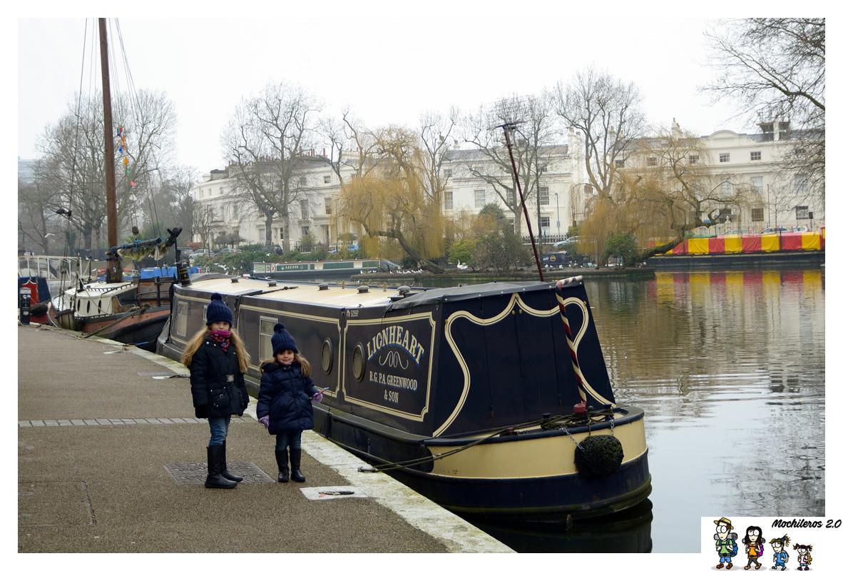 La pequeña Venecia de Londres, y el Mercado de Camden