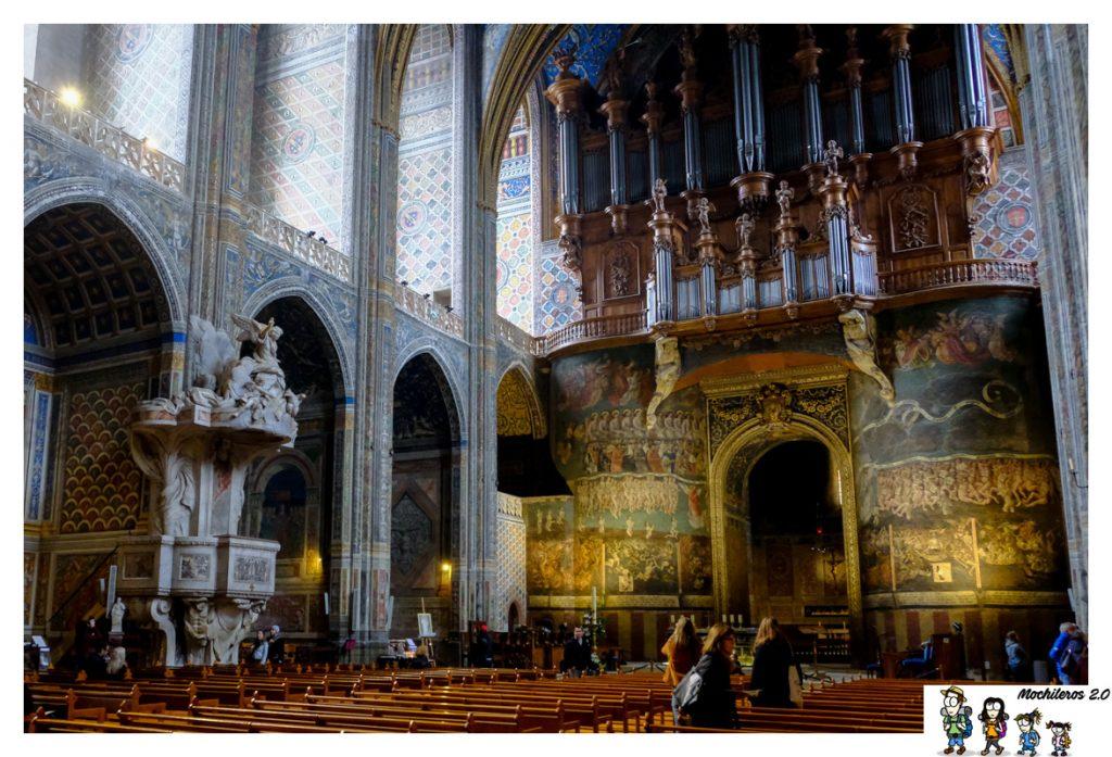 organo catedral santa cecilia