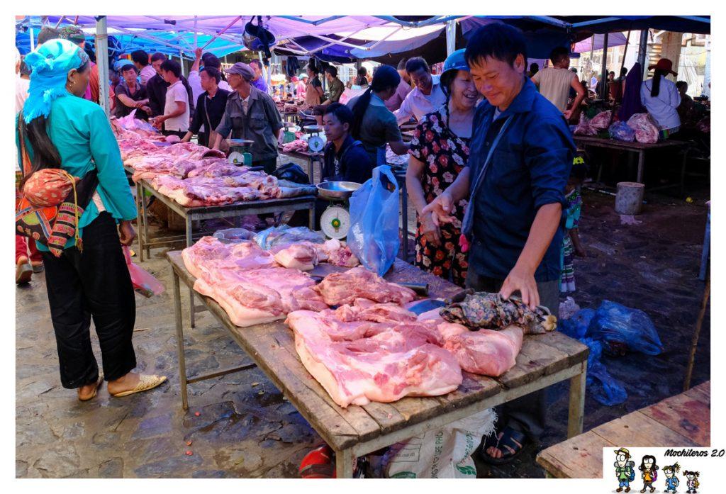 carne mercado bac ha