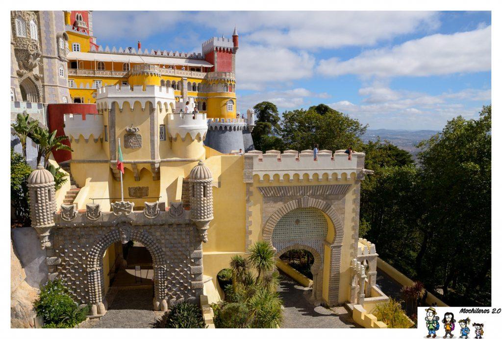 entrada palacio da pena