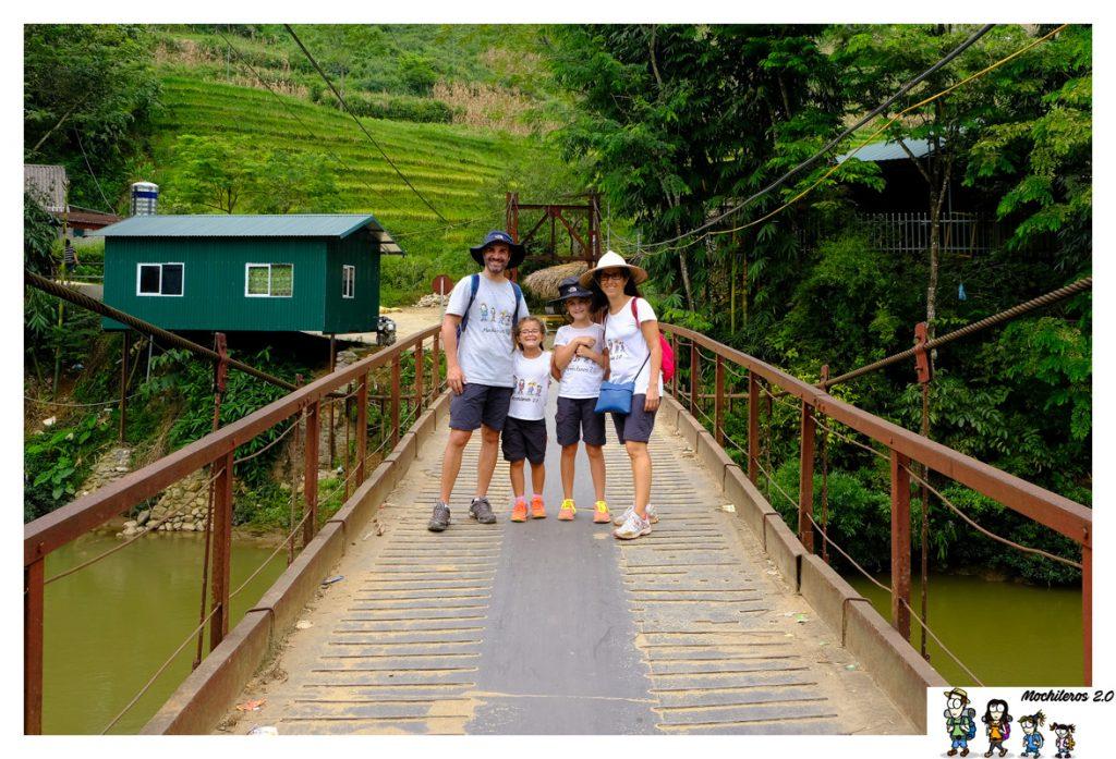 sapa ruta por arrozales