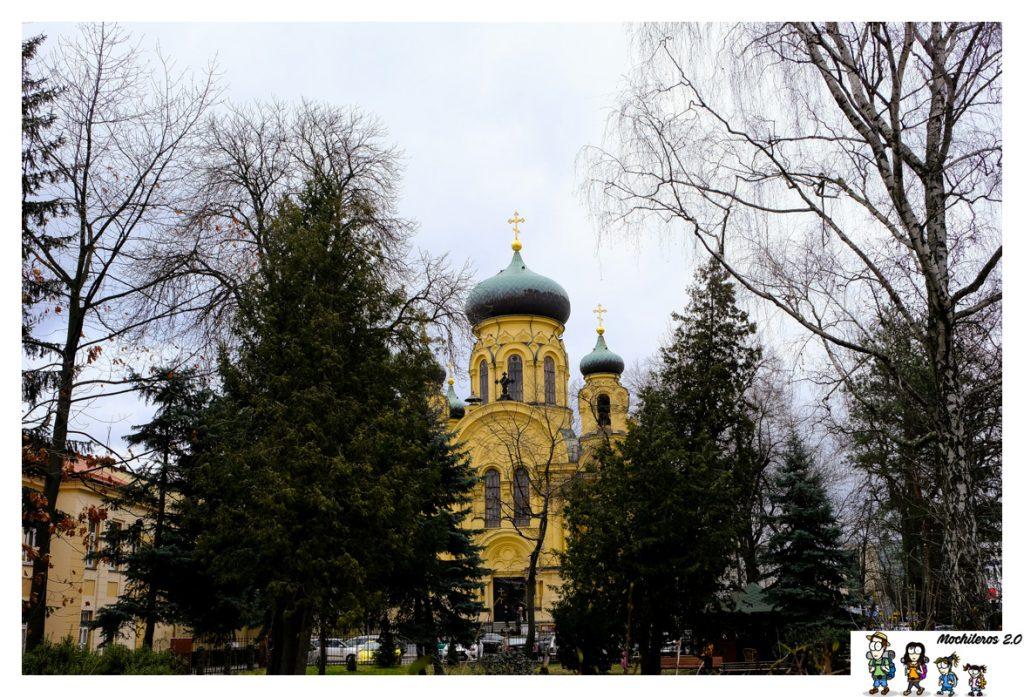 catetral ortodoxa praga varsovia