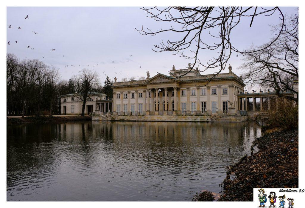 palacio real lazienki varsovia