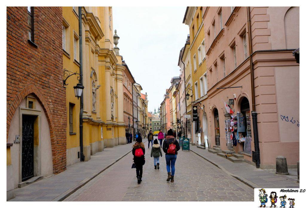 stare miasto varsovia
